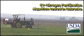 CV-NDVI algorithm tested for winter wheat in Nebraska
