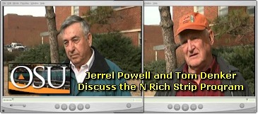 Jerrel Powell and Tom Denker discuss the N Rich Strip Program