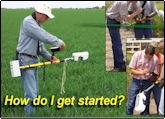 How do I get started using the GreenSeeker Technology