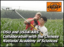 Dr. Kyle Freeman collaborates with scientists from the Chinese National Academy of Sciences, in Shijiazhuang, China